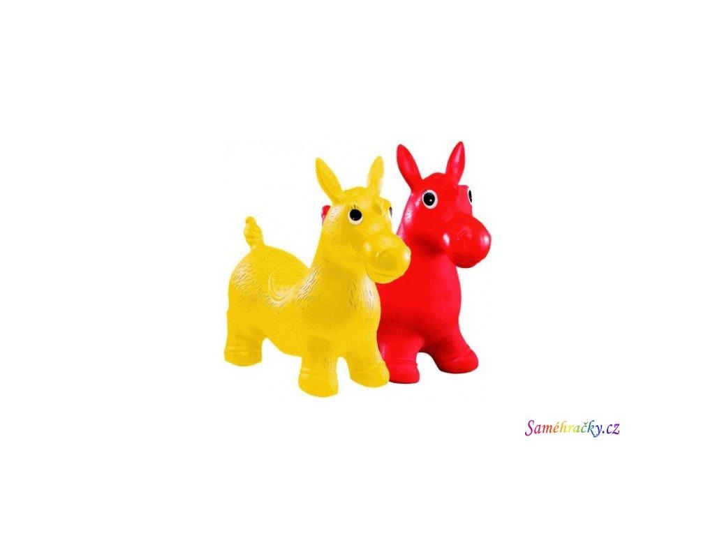 John Skákací koník (Barva Červená)