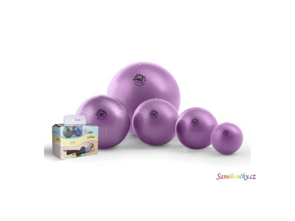 Soffball Maxafe, fialový (Průměr 15 cm)
