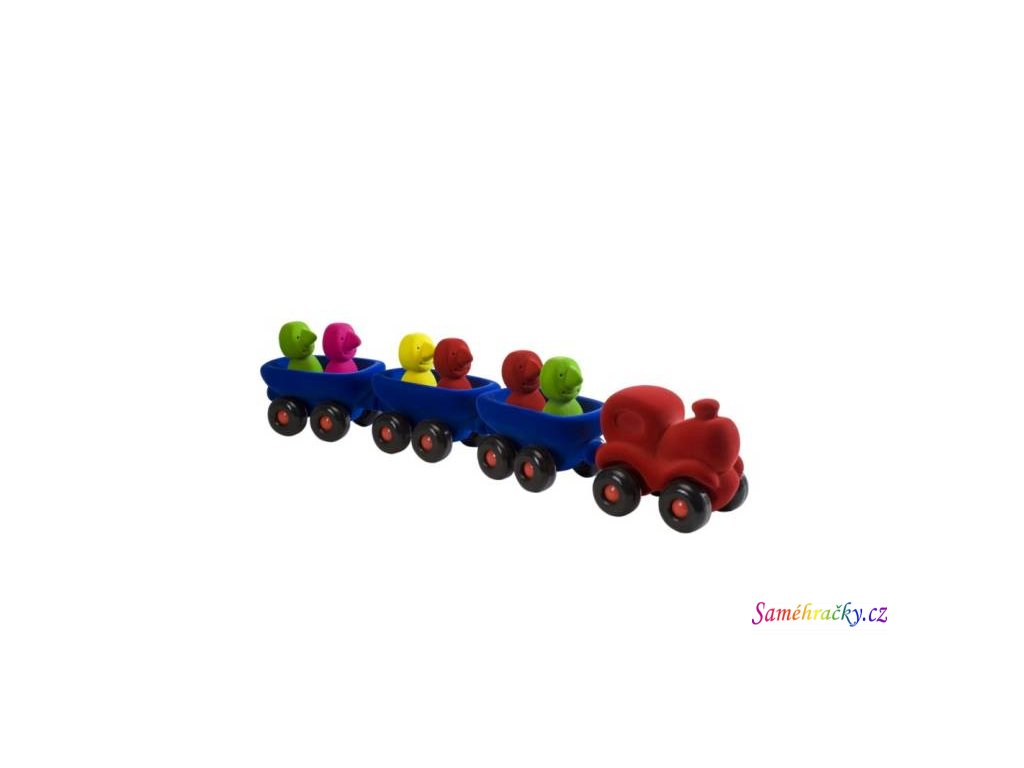vlak s vagonky velky