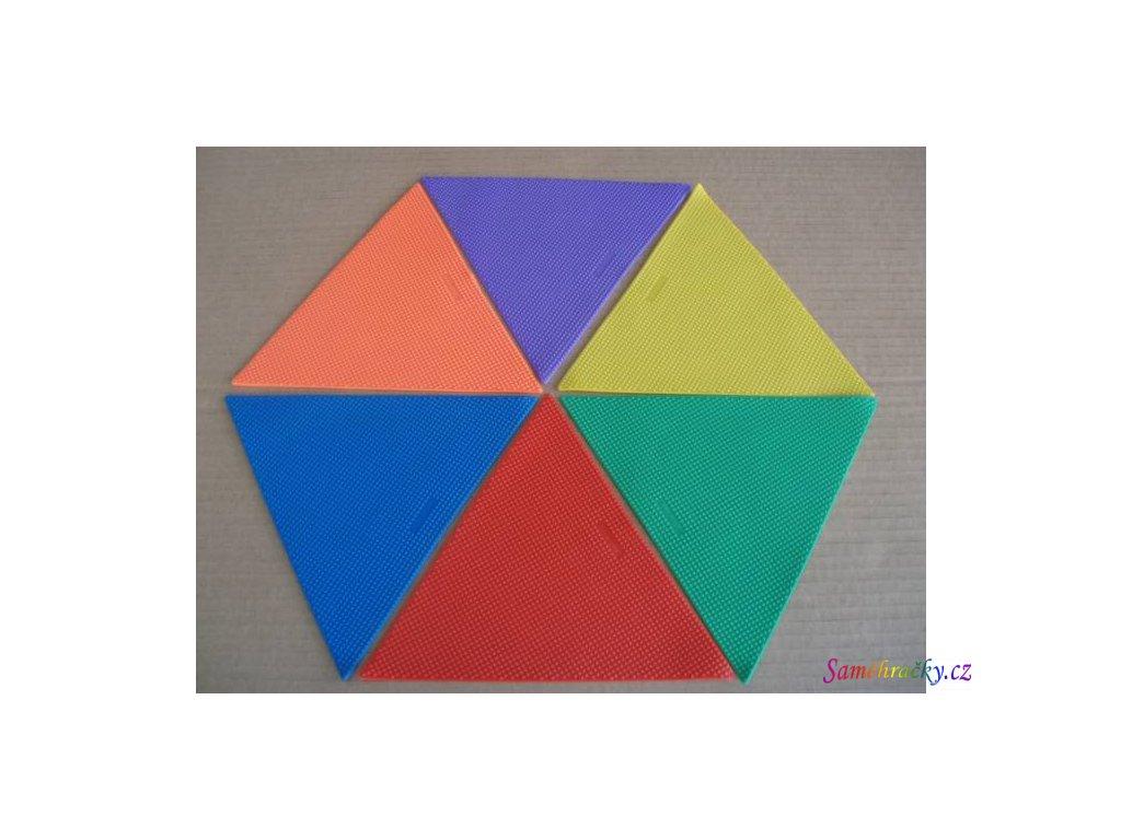 Značka Trojúhelník (Barva Červená)