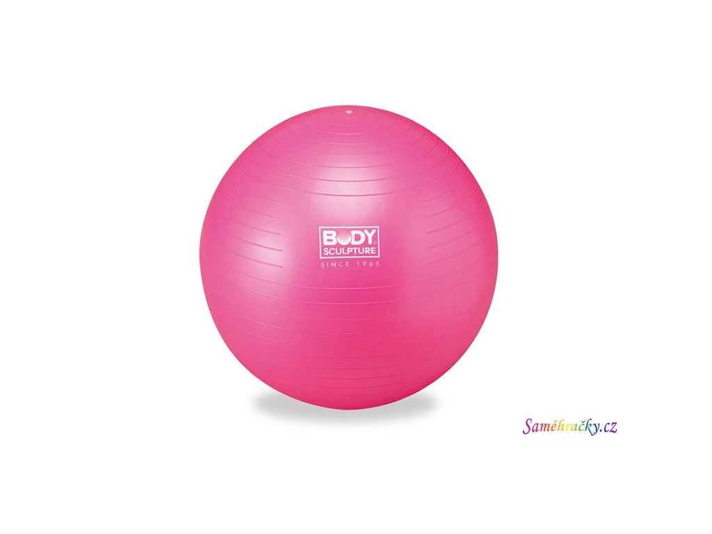 Gymnastický míč Gymball Pink (Průměr 55 cm)
