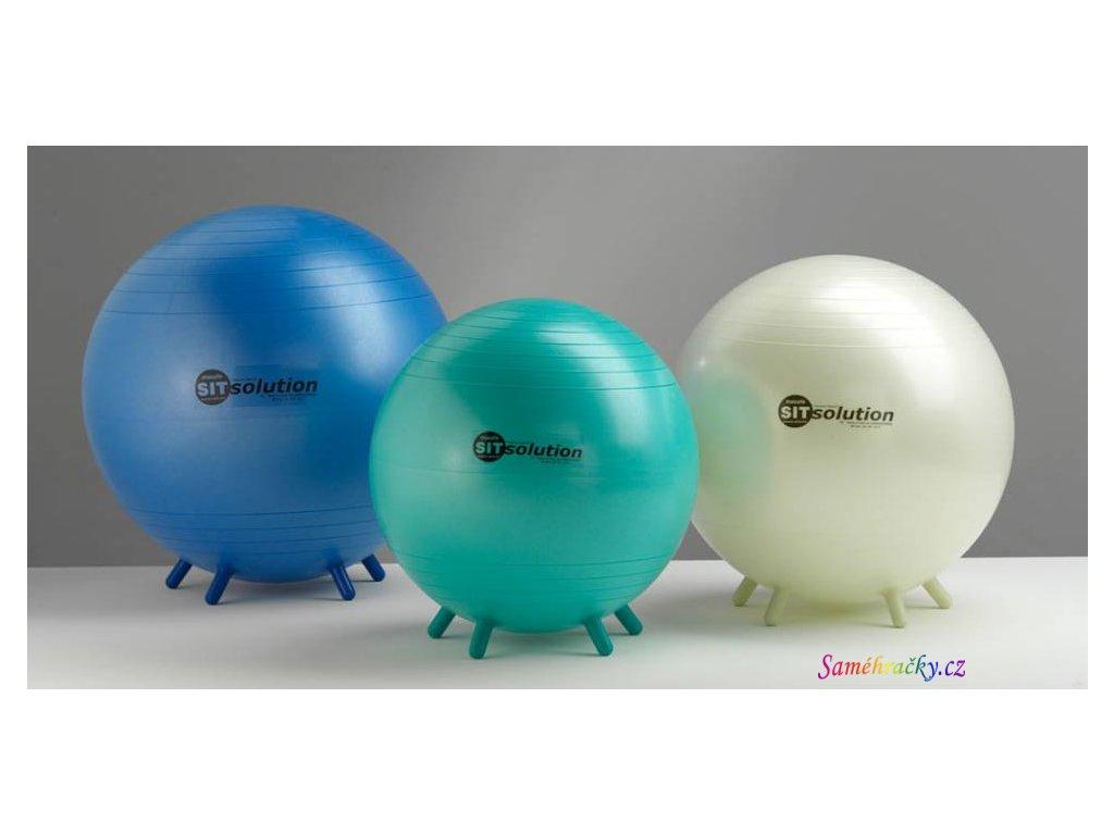 Sit Solution Maxafe, míč k sezení (Průměr 55 cm, Barva Bílá)
