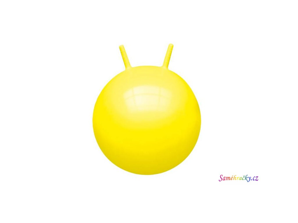 HOP Unicolor John 45-50 cm skákací míč s rukovítky (Barva Fuchsie)