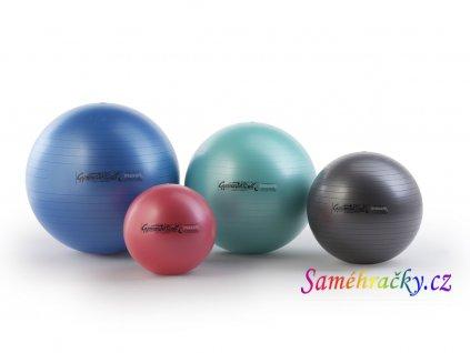Ledragomma GYMNASTIK BALL Maxafe, 75 cm (Barva Bílá)