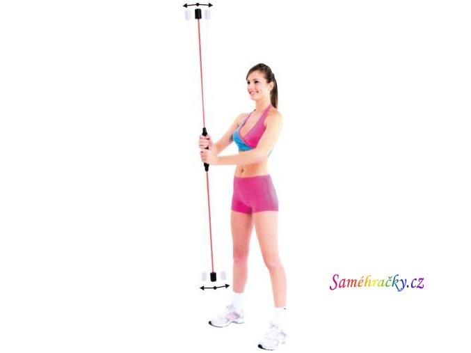 Kmitací tyč flexibilní (Hmotnost 600 g)