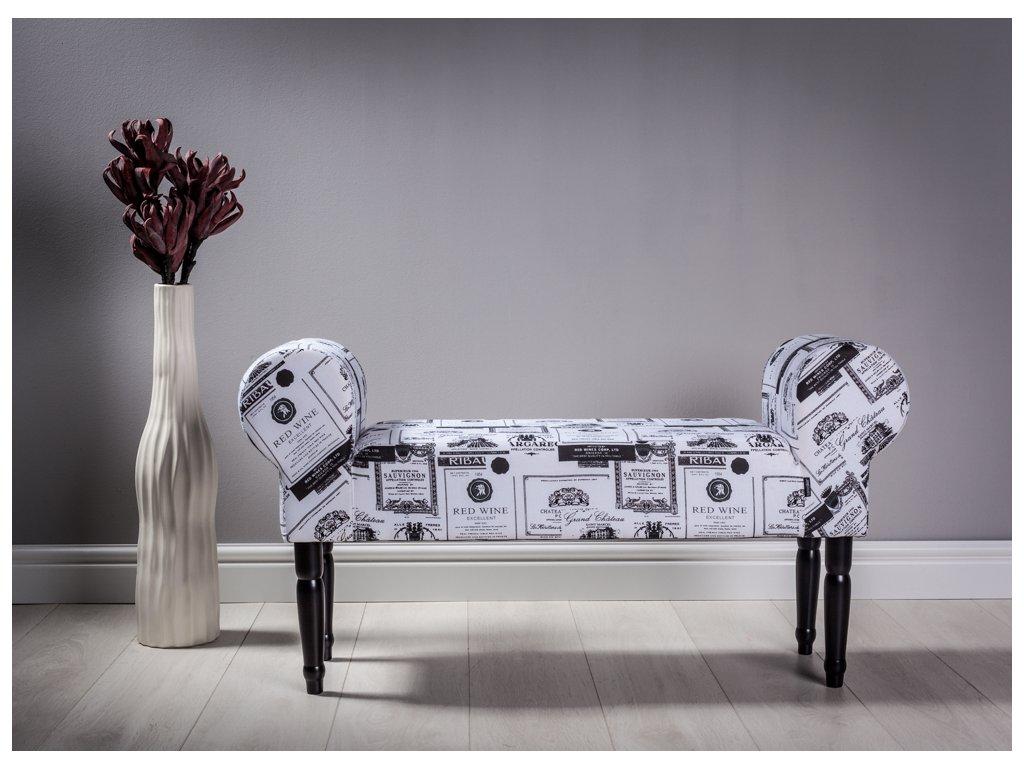 LAVICA SAUVIGNON  lavička do obývačky či predsiene