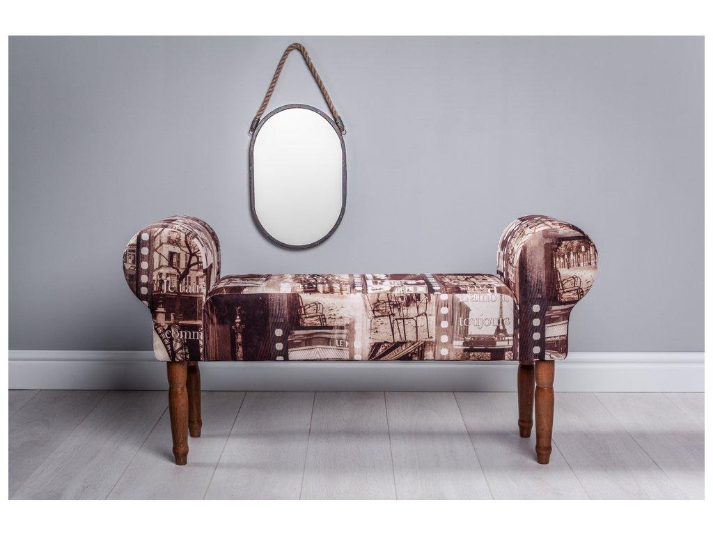 LAVICA PARIS  lavička do obývačky či predsiene