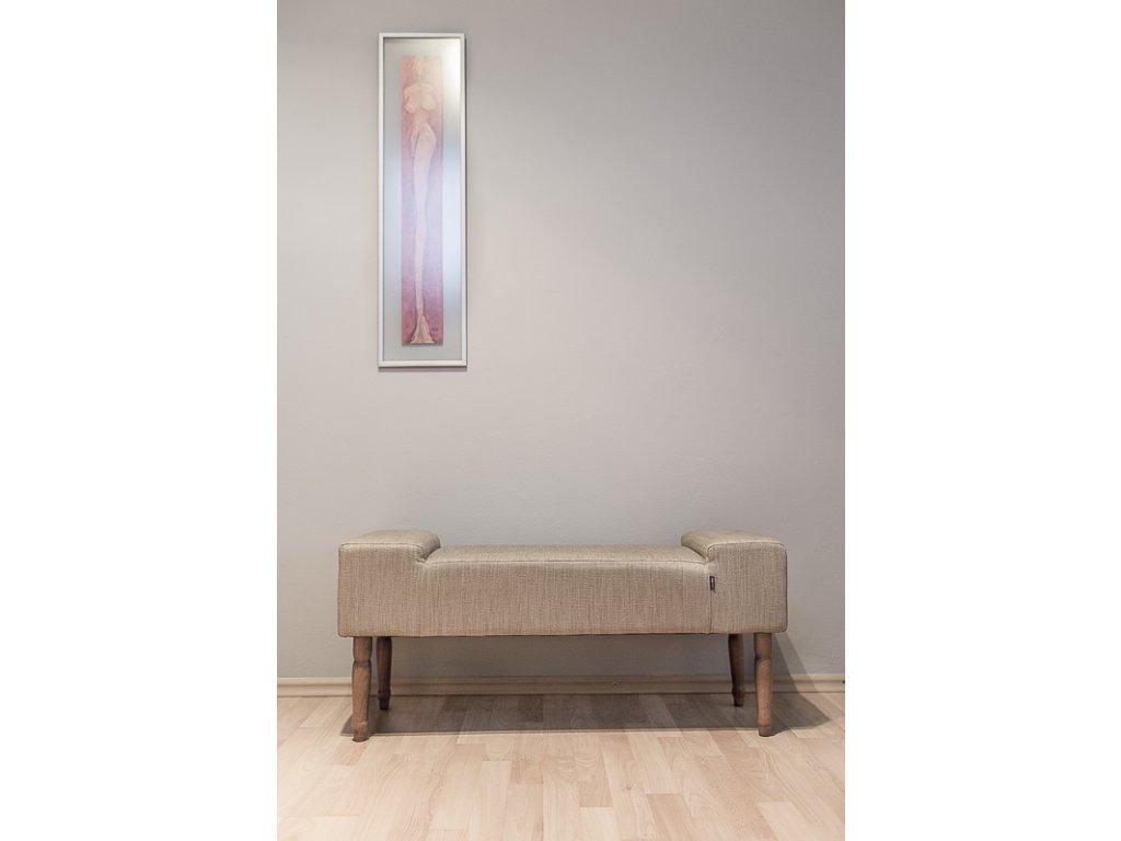 Lavica LINE SACK  lavička do obývačky či predsiene