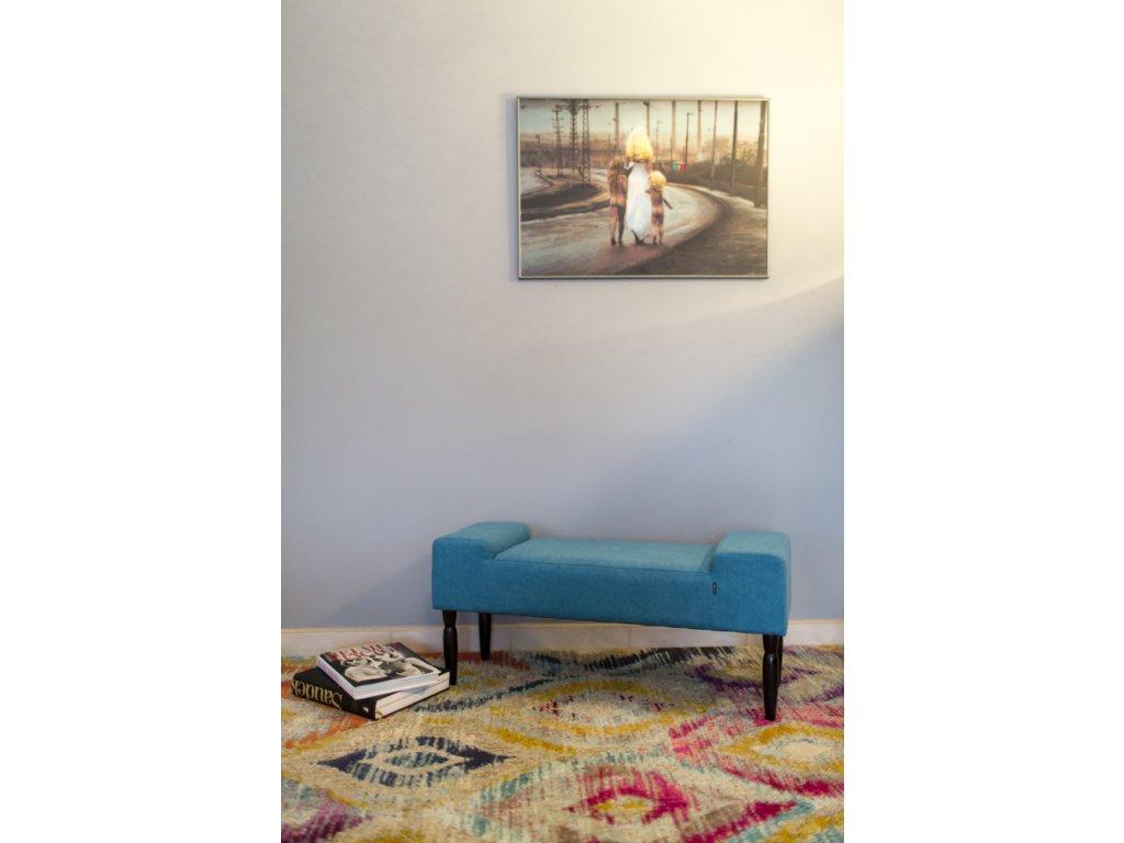 LINE TYRKYS  lavička do obývačky či predsiene