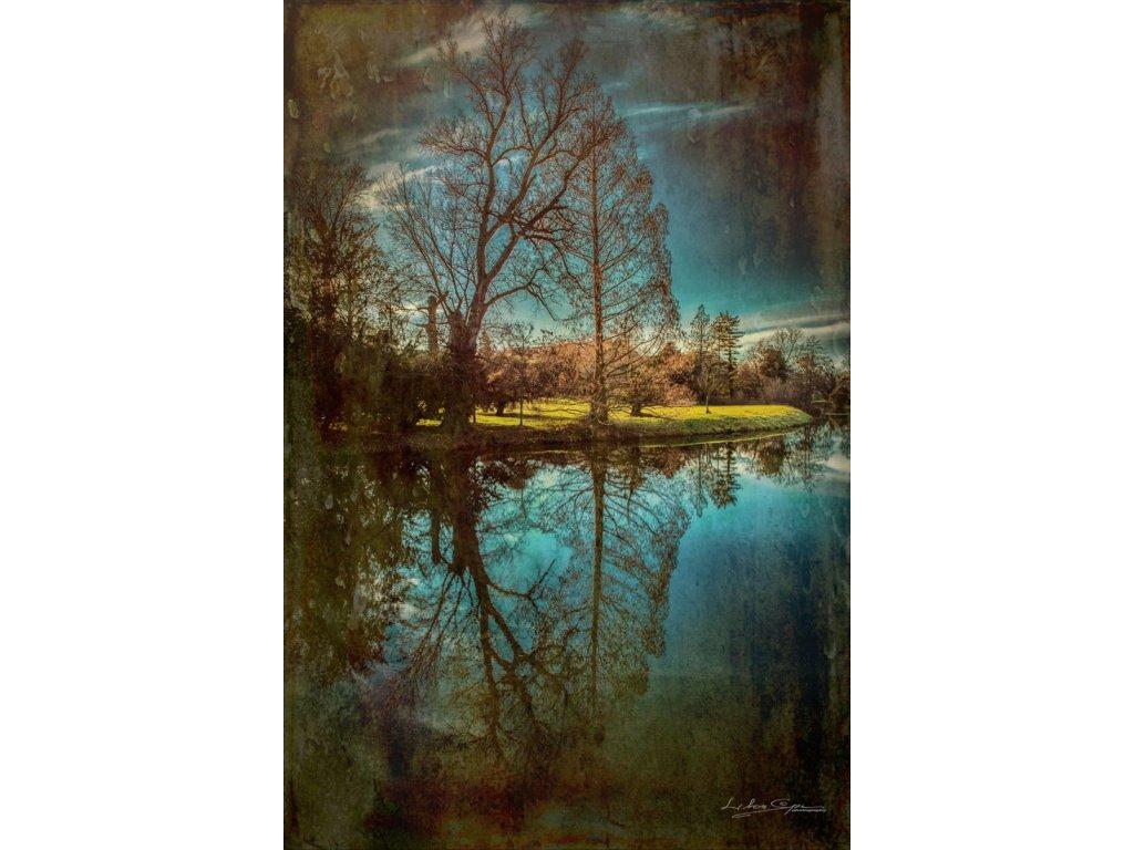 Foto-obraz '' Zrkadlenie ''