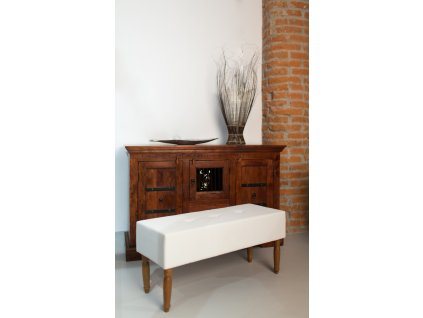 NOVINKA - LAVICA EASY - LIGHT GRAY  lavička do obývačky či predsiene