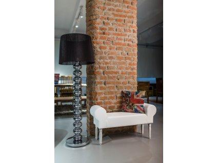 NOVINKA - WHITE BONAMI / ECO  lavička do obývačky či predsiene