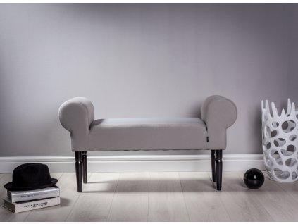 LAVICA SILVER  lavička do obývačky či predsiene