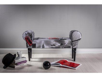 LAVICA LONDON  lavička do obývačky či predsiene