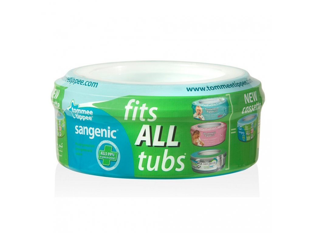 Sangenic Fits All cassette - refillable with Sametic foil - 1 pc
