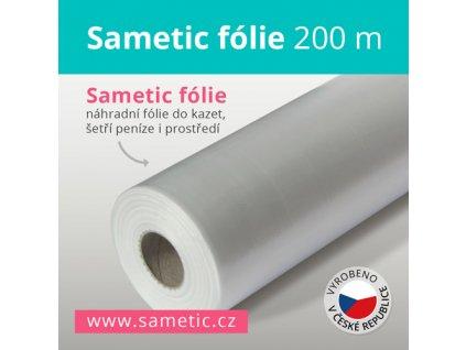 Sametic 200 metrů fólie do kazet košů Sangenic, Angelcare a dalších košů na pleny