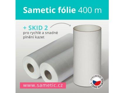 Sametic 400m refill + SKID-2 for Sangenic, Angelcare cassettes