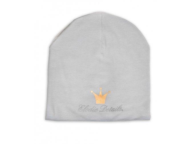 Čepice Logo Beanies Elodie Details - Marble Grey
