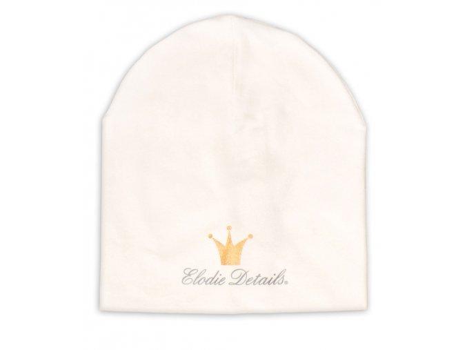 Čepice Logo Beanies Elodie Details - Vanilla White