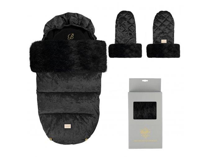 set black velvet