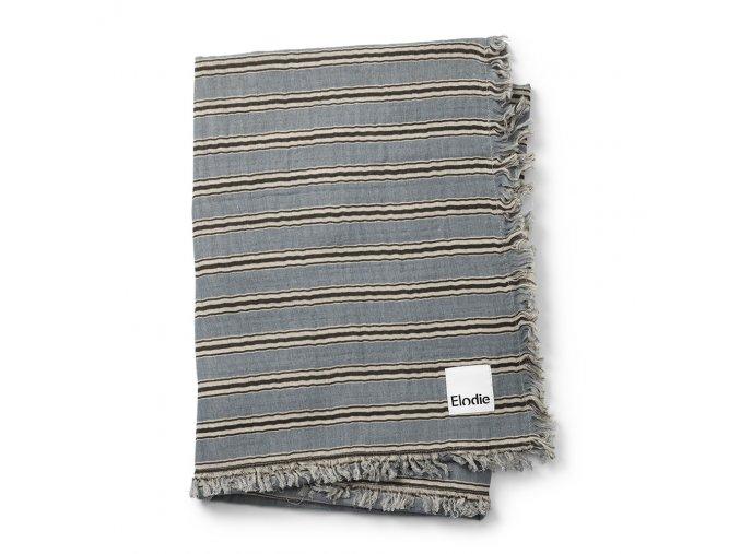 soft cotton blanket sandy stripe elodie details 70360111586NA 1 1000px