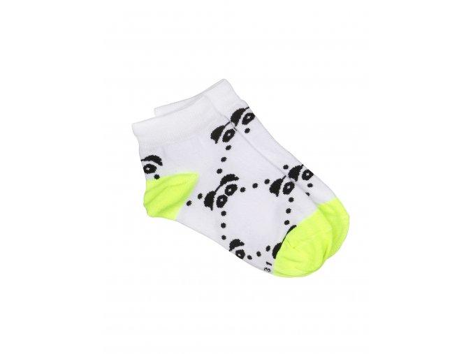 Ankle Socks Dots Neon 01