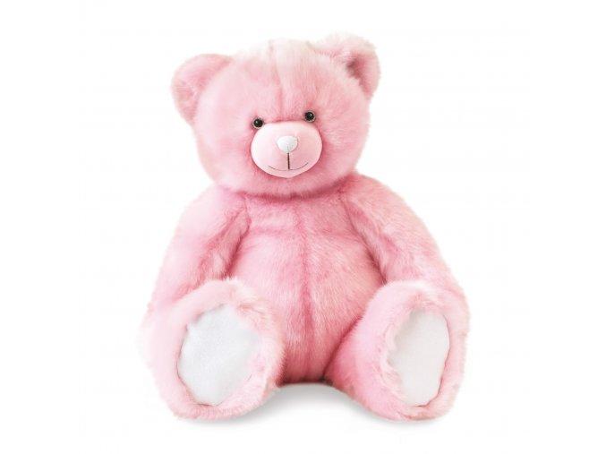 Plyšový medvídek růžový - 60cm