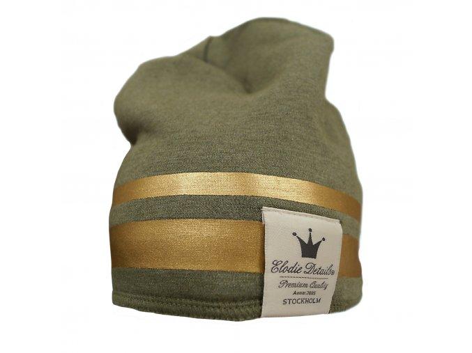 Čepice Winter Beanies Elodie Details Gilded Green