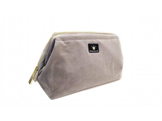 Příruční taška Zip & Go Marble Grey