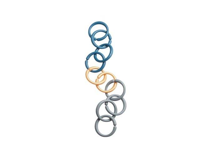 Hrací kroužky/spona, modré