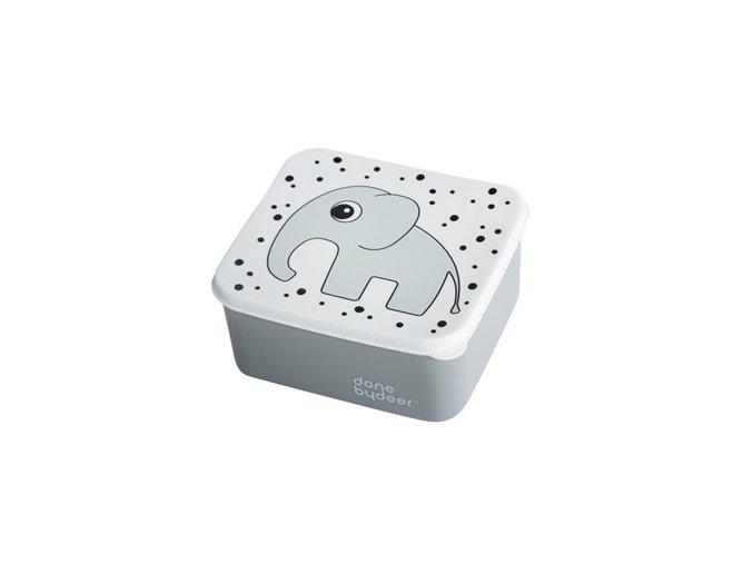 Obědový box, šedý