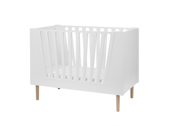 Dětská postýlka 120x60 cm - bílá