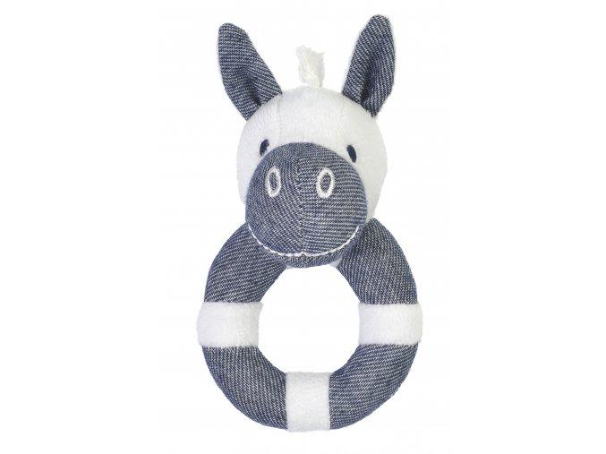 Zebra Zsa Zsa - chrastítko