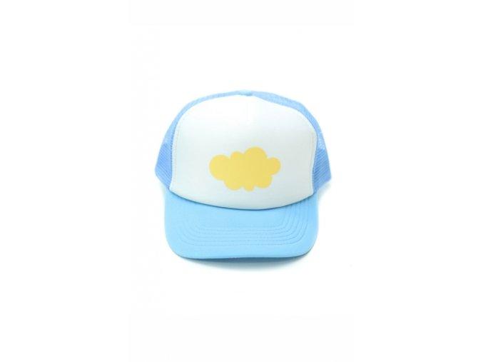 5541 cap010712 czapka z daszkiem yellow cloud 1
