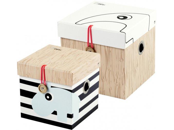 Úložný box - 2ks malý