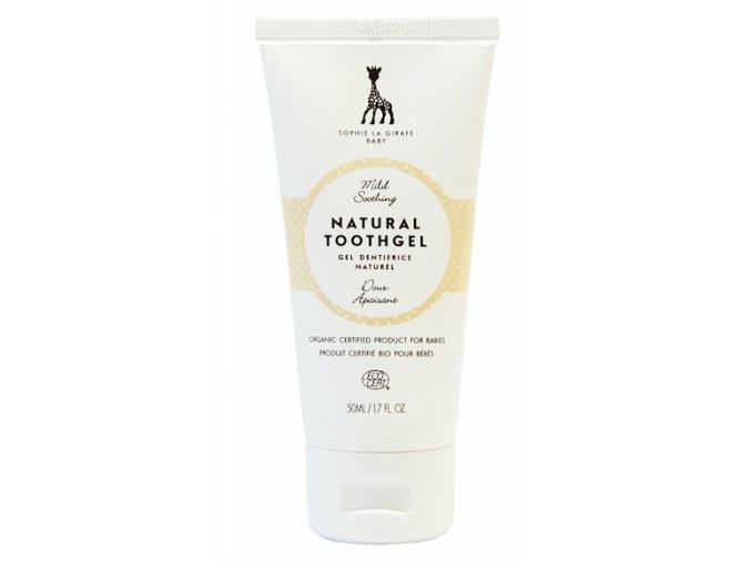 sophie la girafe gel na cisteni detskych mlecnych zoubku 50 ml 2061