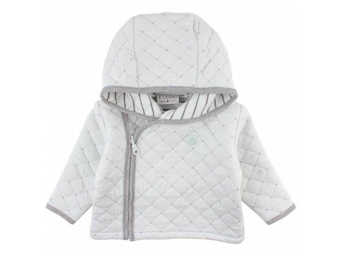 Bavlněný kabátek Future - světle modrá