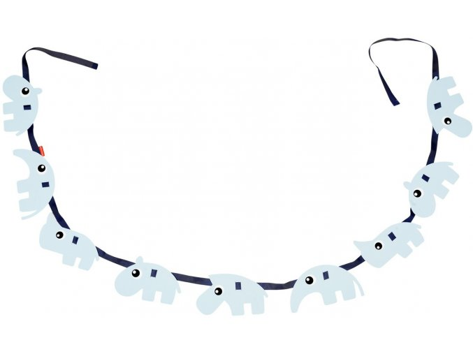 Girlanda modrá
