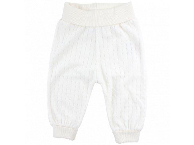 Bavlněné kalhoty Future - bílé