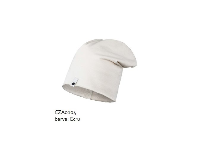 Bavlněná čepice - ecru