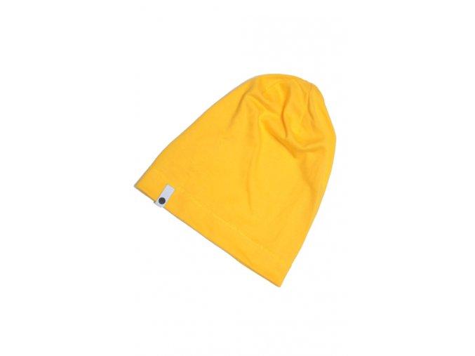 Letní čepice - žlutá