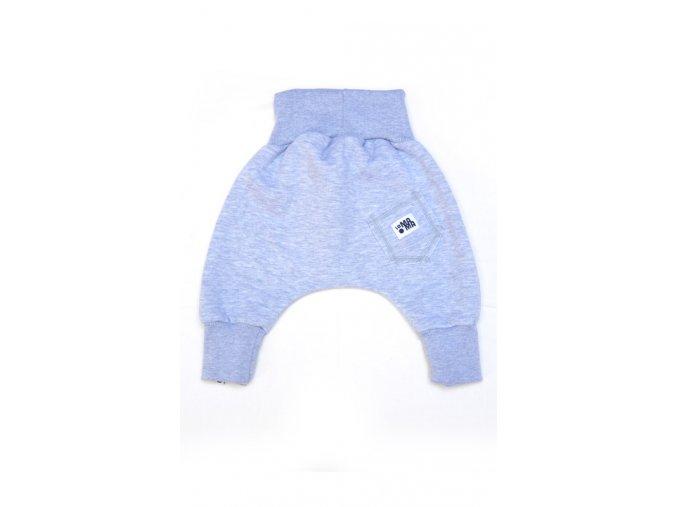 Kalhoty bavlněné (podzim/zima) - světle šedé