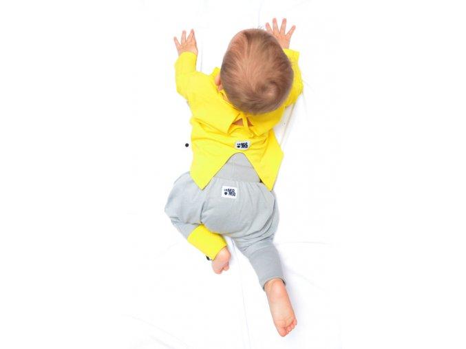 Kalhoty mini mini (jaro/léto) - šedé
