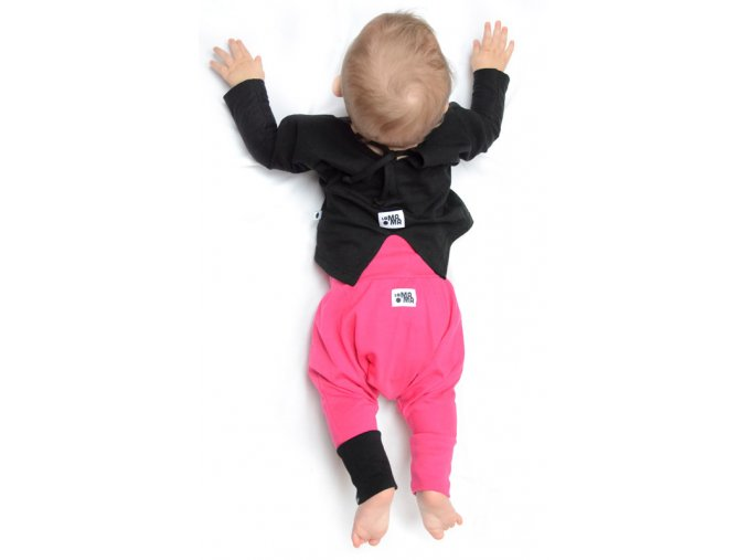 Kalhoty mini mini (jaro/léto) - fuchsiové