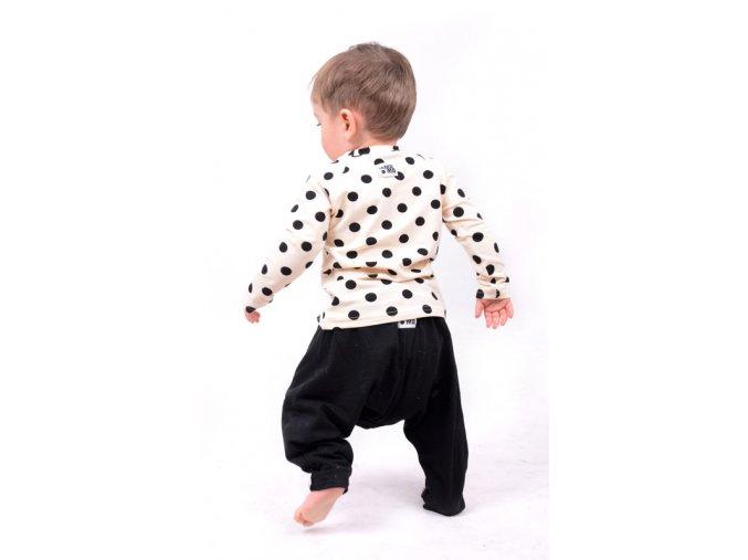 Kalhoty bavlněné (jaro/léto) - černé