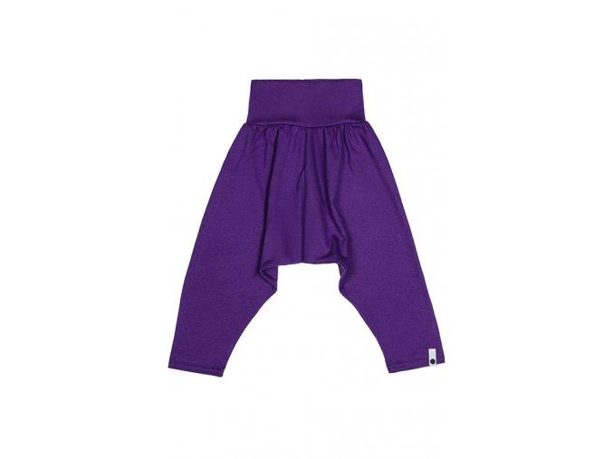 Kalhoty bavlněné (jaro/léto) - fialové