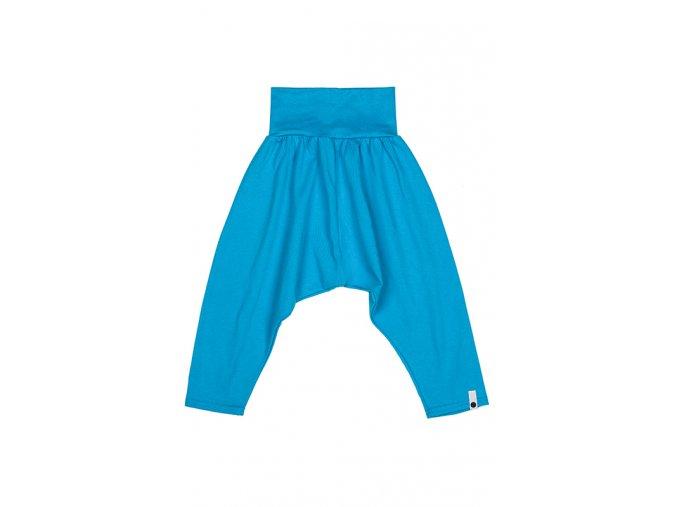 Kalhoty bavlněné (jaro/léto) - tyrkysové