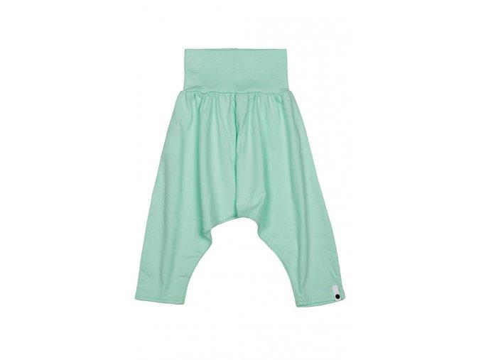 Kalhoty bavlněné (jaro/léto) - mátové