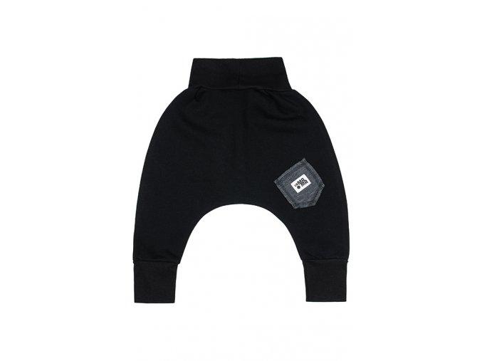Kalhoty bavlněné (podzim/zima) - černé