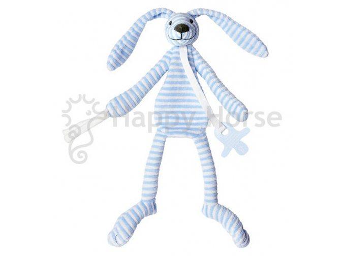 Modrý pruhovaný králíček Reece - přítulka